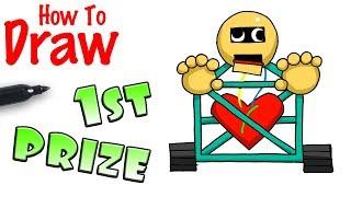 How to Draw 1st Prize | Baldi