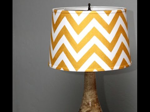 DIY Lampshades From Scratch