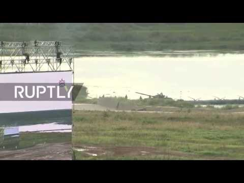 LIVE: Russian Army Expo 2016 first day of displays