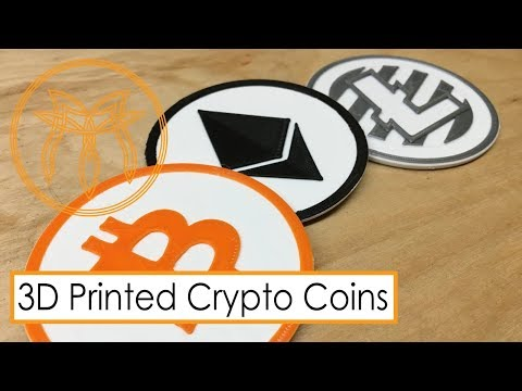 3D Printed Crypto Coins