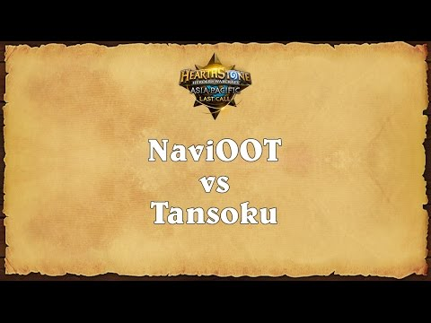 NaviOOT vs Tansoku - Asia-Pacific Last Call - Quarterfinal 3