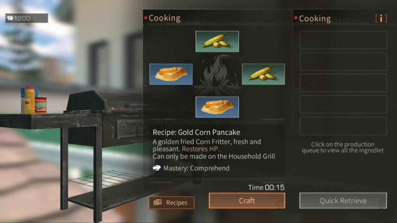 Resep Makanan Lifeafter Part 2 By Seraphi Gaming