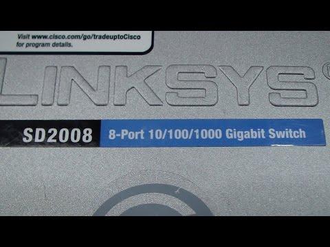 Linksys Cisco SD2008 Gigabit LAN Switch Repair
