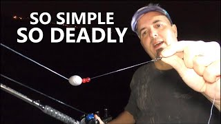 Striper Rig we use for Live Bait! How to catch Striped Bass LIVE LINE RIG
