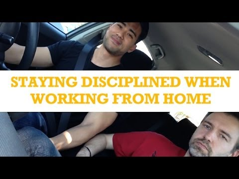 EIM011 - How To Stay Disciplined When Working From Home