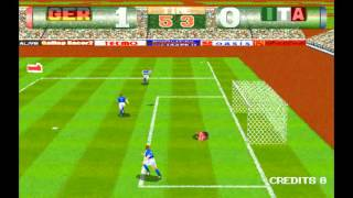 Tecmo World Cup 98. MAME Download