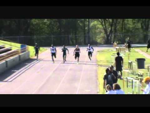 Tyler Bray running the 400 freshman year at South point H.S. 2010-11