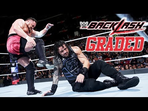 WWE Backlash 2018: GRADED