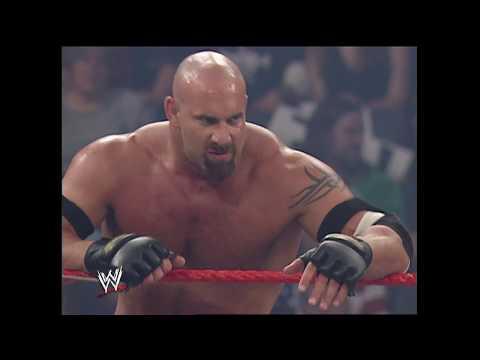Goldberg & Shawn Michaels vs. Ric Flair, Randy Orton & Mark Henry : Raw, Oct. 13. 2003