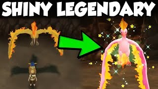 SHINY LEGENDARY POKEMON ENCOUNTERS In Pokemon Let's Go Pikachu and Eevee thumbnail