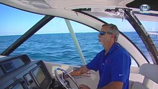 2014 Pursuit OS 385 with Helm Master DEMO on Ship Shape TV  4 6 14