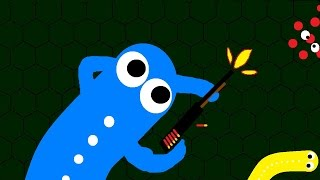 Wormax.io - WORM WITH A SHOTGUN 지렁이 키우기2  ( slither.io wormax.io tong88 )