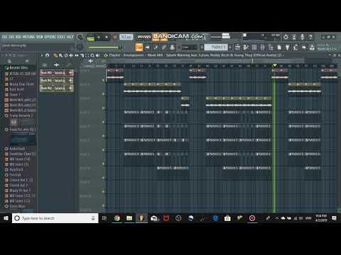 Meek Mill - Splash Warning FL Studio Remake + FLP