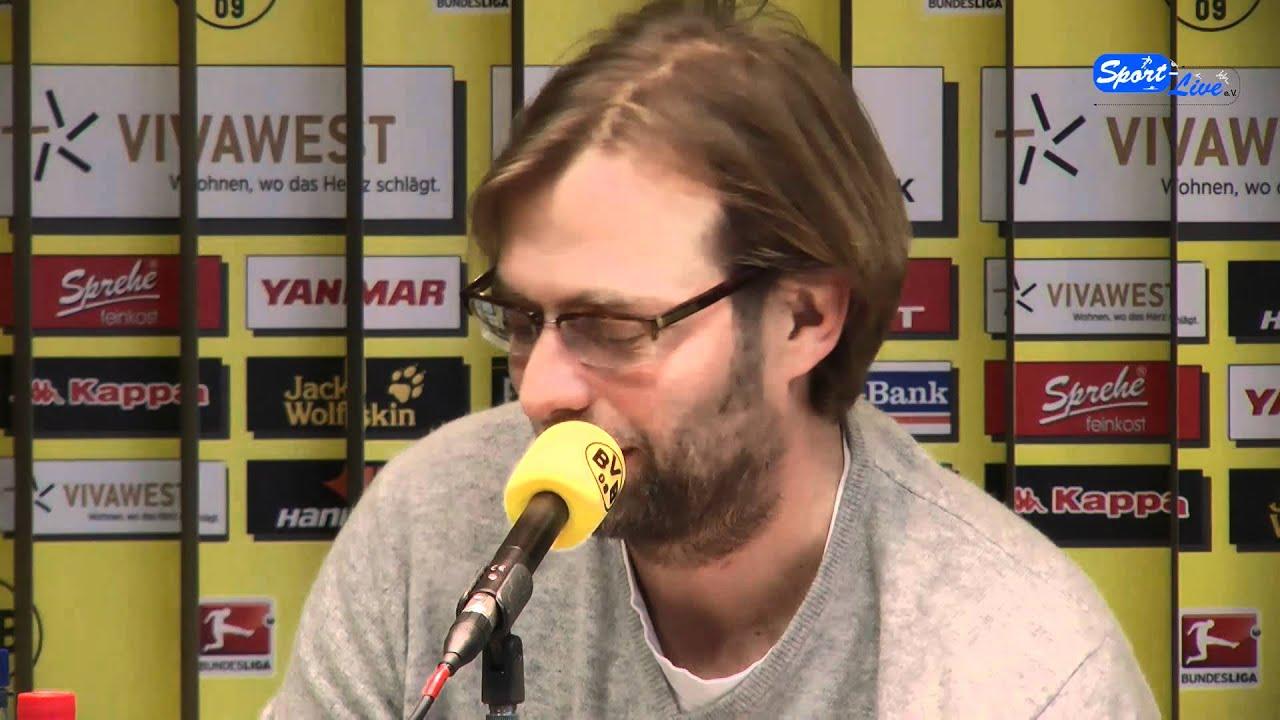 Borussia Dortmund - Bayer 04 Leverkusen Pressekonferenz 09.02.2012 Teil 2