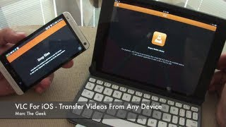 VLC for iOS - Transfer Videos From Any Device(In this video I show the free VLC for iOS and it's new features. This app was taken down on 2011 and now it's back. I also show how to transfer videos from any ..., 2013-07-20T01:08:54.000Z)