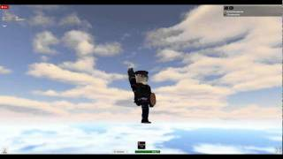 Chris Angel on Roblox 2! Now hes dancing!