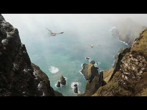 Faroe Islands, the breathtaking view from Beinisvørð cliff - Suðuroy