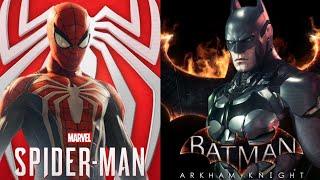 Spider-Man PS4 Vs. Batman Arkham Knight Comparison
