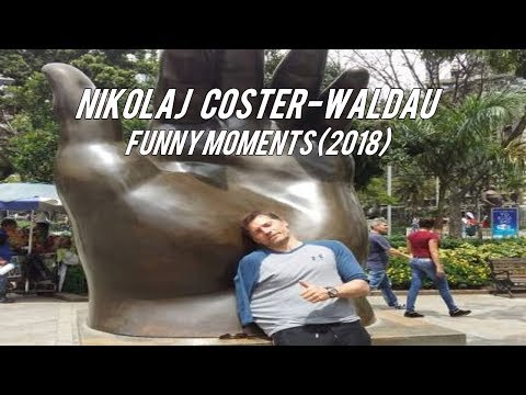 Nikolaj Coster-Waldau Funny Moments (2018)