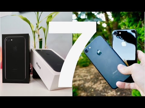 Thumbnail: iPhone 7 Unboxing and Review (Jet Black vs Matte Black)!!!