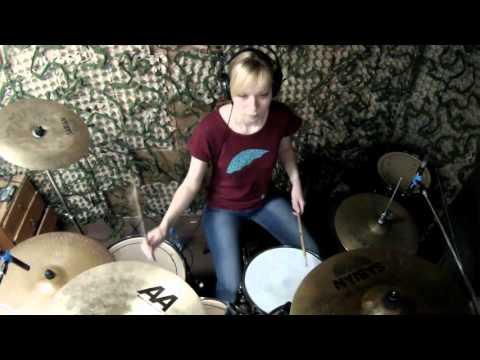 СПЛИН - Полная Луна. Drum Cover By Elena Bykova