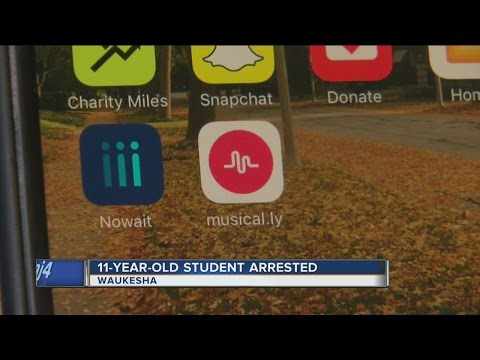 11-year-old Made Threats Through Music App
