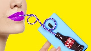 UNIQUE DIY PHONE CRAFTS IDEAS | Edible And Anti-Stress Phone Crafts
