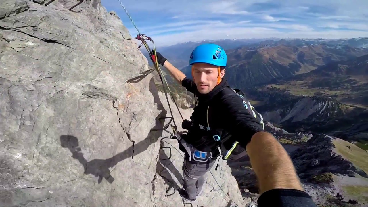 Klettersteig Austria : Saulakopf klettersteig austria youtube