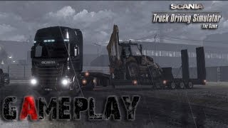 Scania Truck Driving Simulator Gameplay (PC/HD)