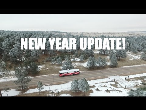 It's the New Year! | Traveling Across North America | Bus Life