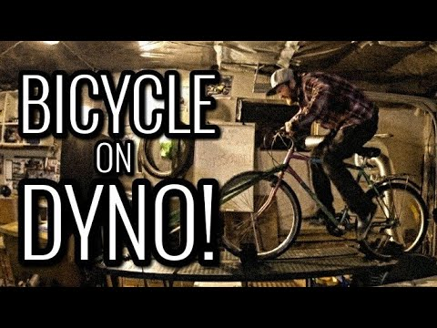 BICYCLE ON DYNO | How Much Power? More Than a Moped?!