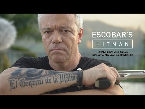 Escobar's Hitman. Former drug-gang killer, now loved and loa