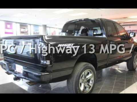 2006 Dodge Ram 1500 Slt 4wd Night Runner For Sale In Hamilton Oh