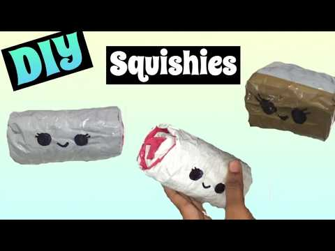 DIY 3D Squishy | 3D Cake Roll & Sushi | 3D Paper Squishy