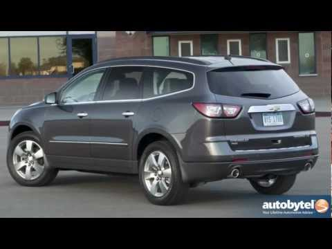 2013 Chevrolet Traverse Test Drive & Crossover SUV Video Review