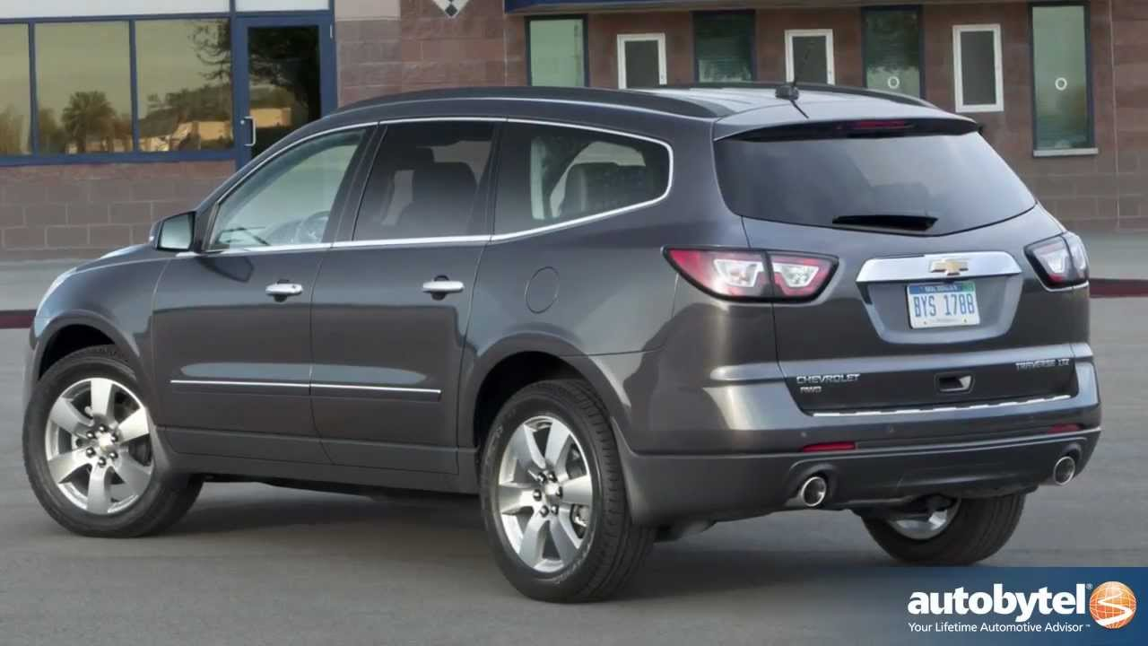 Chevrolet Traverse Test Drive Crossover Suv Video Review