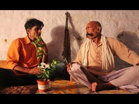 Former Chambal Dacoit Mohar Singh with Vishnu Lamba