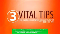 Best Solar Power (Energy Panels) Installation Company in Whitinsville Massachusetts MA