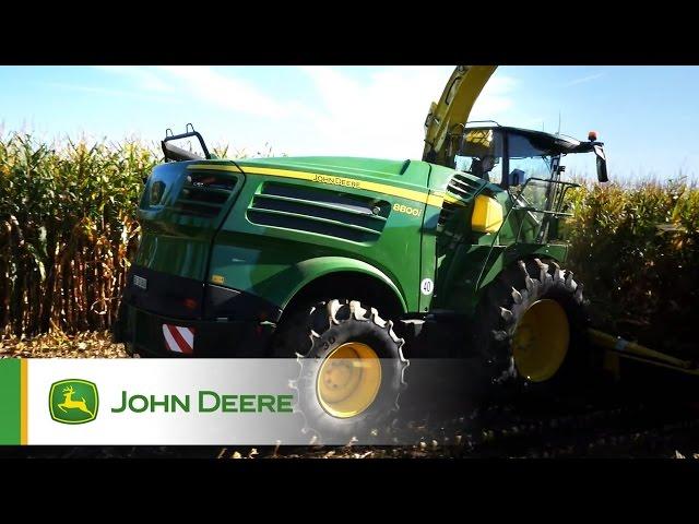 Sieczkarnia samojezdna John Deere serii 8000 (2016)
