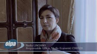 """Convegno """"Educazione Finanziaria"""", intervista a Nadia Linciano (Ufficio Studi Economici CONSOB)"""