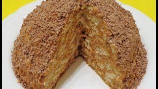 "Торт ""Муравейник"" за 10 минут | Cake ""Anthill"" in 10 minutes"
