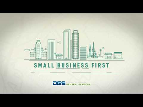 DGS Small Business First