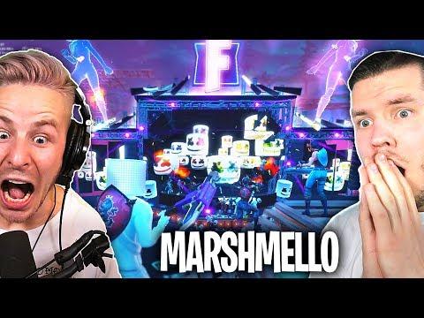 DAS krasseste FORTNITE EVENT ever! (Marshmallow LIVE IN FORTNITE) mit STANDARTSKILL thumbnail