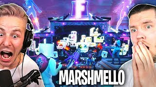 DAS krasseste FORTNITE EVENT ever! (Marshmallow LIVE IN FORTNITE) mit STANDARTSKILL