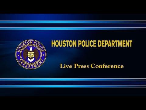 "Chief Acevedo announces ""March on Crime"" Initiative   | Houston Police Department"