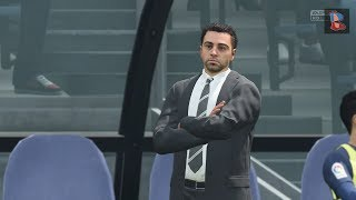 Play xavi as barcelona manager fifa 18 career mode