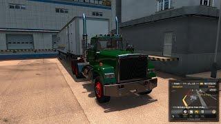 American Truck Simulator Mods - Mack Superliner - San Diego to Fresno