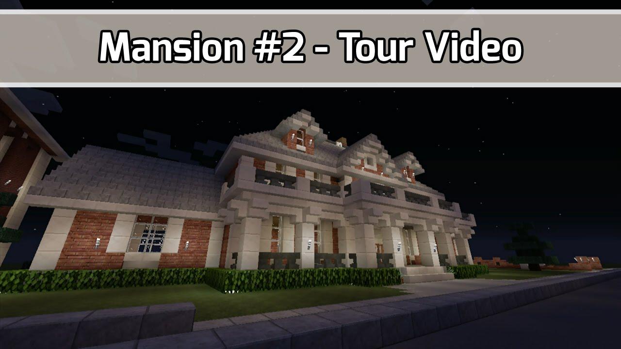 how to build minecraft mansion videos