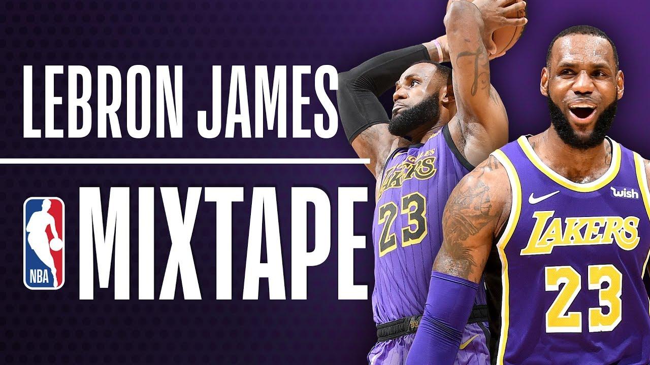LeBron James' Lakers Mixtape!