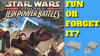 Star Wars Episode 1 Jedi Power Battles  Fun or Forget It